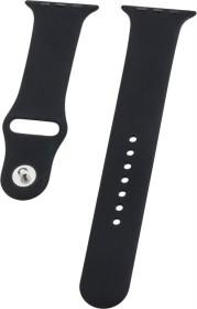 Peter Jäckel Watch Band Silicon für Apple Watch (42mm/44mm) schwarz (17241)