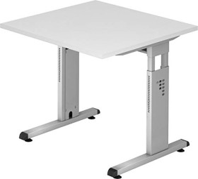 Hammerbacher Ergonomic O-Serie OS08/W, weiß, Schreibtisch