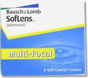 Bausch&Lomb SofLens Multi-Focal, -8.00 Dioptrien, 6er-Pack