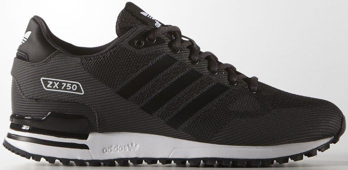 adidas ZX 750 shadow black core black ftwr white (men) (S79195 ... ea9899846
