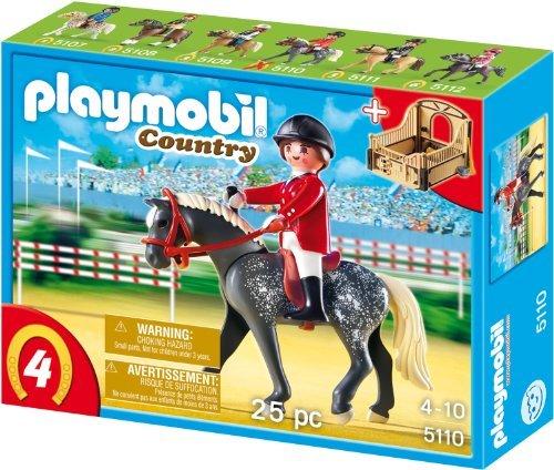 playmobil - Country - Trakehner mit braun-gelber Pferdebox (5110) -- via Amazon Partnerprogramm