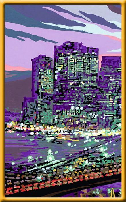 Ravensburger Malen Nach Zahlen Skyline Von New York 28951