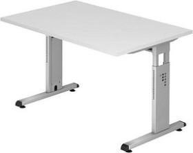 Hammerbacher Ergonomic O-Serie OS12/W, weiß, Schreibtisch