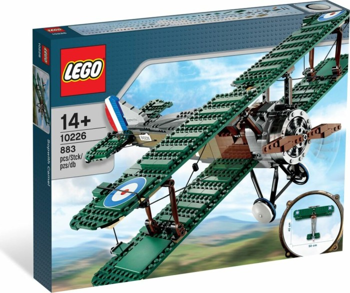lego creator expert sopwith camel 10226 starting from. Black Bedroom Furniture Sets. Home Design Ideas