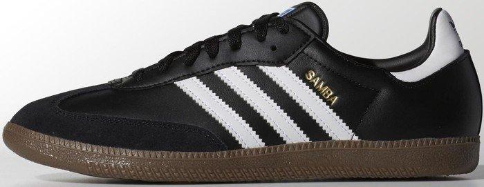 adidas Samba black/gum/white (Herren) (G17100)