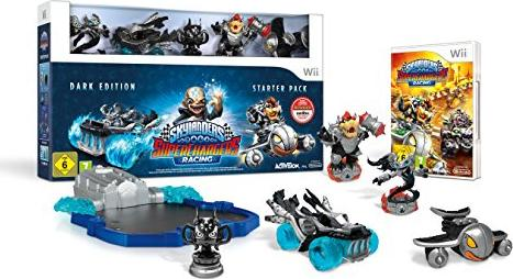 Skylanders: Superchargers - Starter Pack - Dark Edition (deutsch) (Wii) -- via Amazon Partnerprogramm