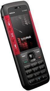Nokia 5310 XpressMusic schwarz-rot