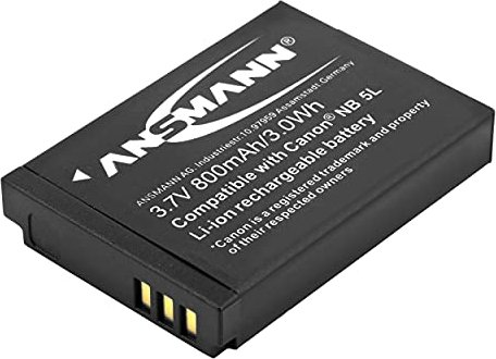 Ansmann A-Can NB-5L Li-Ion battery (5022953) -- http://bepixelung.org/8021
