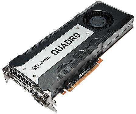 PNY Quadro K6000, 12GB GDDR5, 2x DVI, 2x DP (VCQK6000-PB)