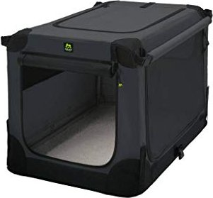 Maelson Soft Kennel faltbare Transportbox XS, anthrazit (SK 62)