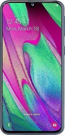 Samsung Galaxy A40 Duos A405FN/DS schwarz (SM-A405FZKD)