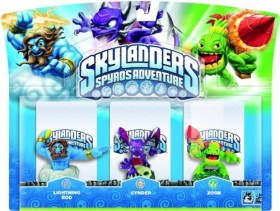 Skylanders: Spyro's Adventure - 3er-Pack (Xbox 360/PS3/Wii/PC) (verschiedene Sets)