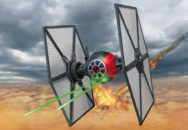 Revell Star Wars Episode VII First Order Special Forces TIE Fighter easykit (06693)