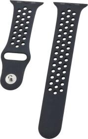 Peter Jäckel Watch Band Silicon Dual für Apple Watch (42mm/44mm) schwarz (17249)