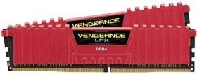 Corsair Vengeance LPX rot DIMM Kit 16GB, DDR4-3733, CL17-19-19-39 (CMK16GX4M2B3733C17R)