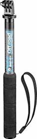 Manfrotto MPOFFROADS-GP Off road Selfie Stick mit GoPro Adapter schwarz/blau