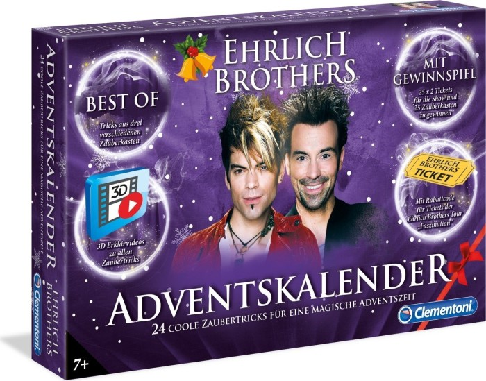 Clementoni Ehrlich Brothers - Advent Calendars 2018 (59084)