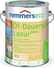 Remmers Öl-Dauerschutz-Lasur eco Holzschutzmittel weiß, 2.5l (7674-03)