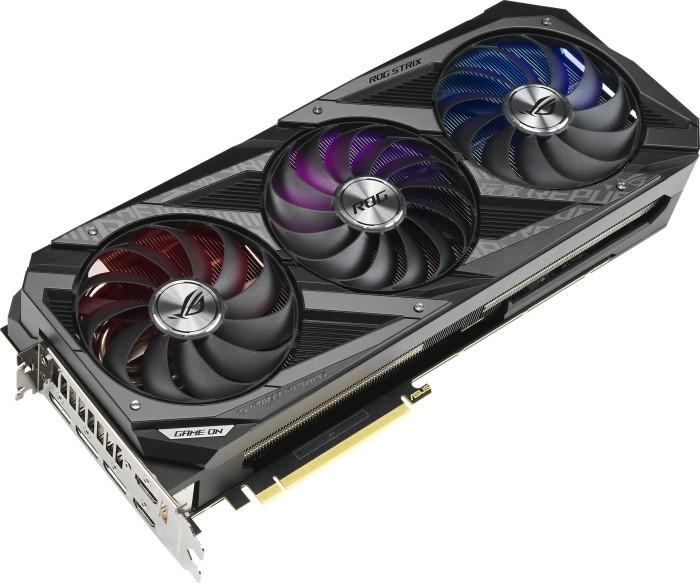 ASUS ROG Strix GeForce RTX 3070 Ti OC, ROG-STRIX-RTX3070TI-O8G-GAMING, 8GB GDDR6X, 2x HDMI, 3x DP (90YV0GW0-M0NA00)