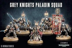 Games Workshop Warhammer 40.000 - Grey Knights - Paladine der Grey Knights (99120107014)