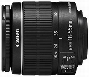 Canon Objektiv EF-S   18-55mm 3.5-5.6 IS II (5121B005)