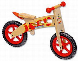 Hudora Sauseschritt Wooden Balance Bike (10120)