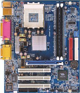Albatron KM400T-8X Pro, KT400 (PC-3200 DDR)