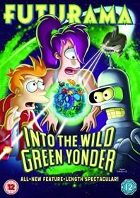 Futurama - Into The Wild Green Yonder (DVD) (UK)