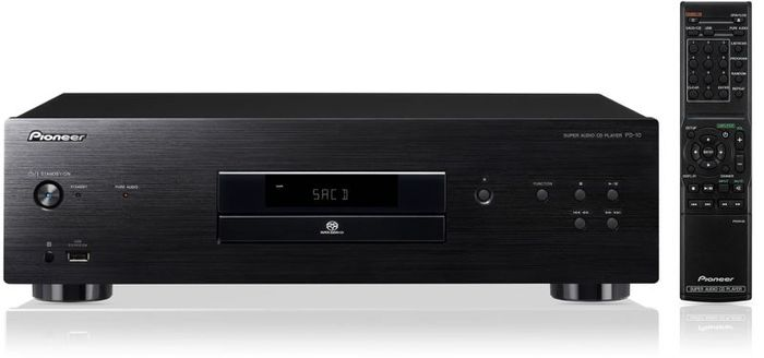 Pioneer PD-10 CD player black (PD-10-K)