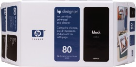 HP combination pack 80 black (C4890A)