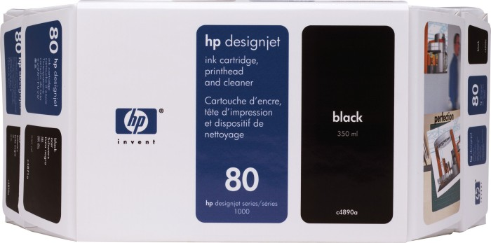 HP Value Pack Nr 80 czarny (C4890A)