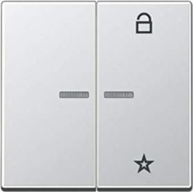 Jung Serie A Steuertaste Universal, aluminium (A 1701 AL)
