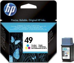 HP Druckkopf mit Tinte 49 dreifarbig 11ml (51649NE)