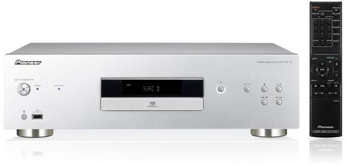 Pioneer PD-10 CD-Player silber (PD-10-S)