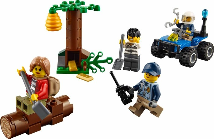 Lego City Górska Policja Uciekinierzy W Górach 60171 Od Pln 28