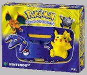 Nintendo 64 Console - Pokemon Pikachu