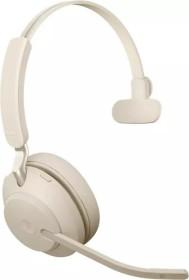 Jabra Evolve2 65 - USB-C UC Mono with Charging Stand beige (26599-889-888)