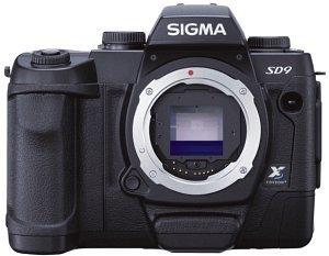 Sigma SD9 czarny Obudowy