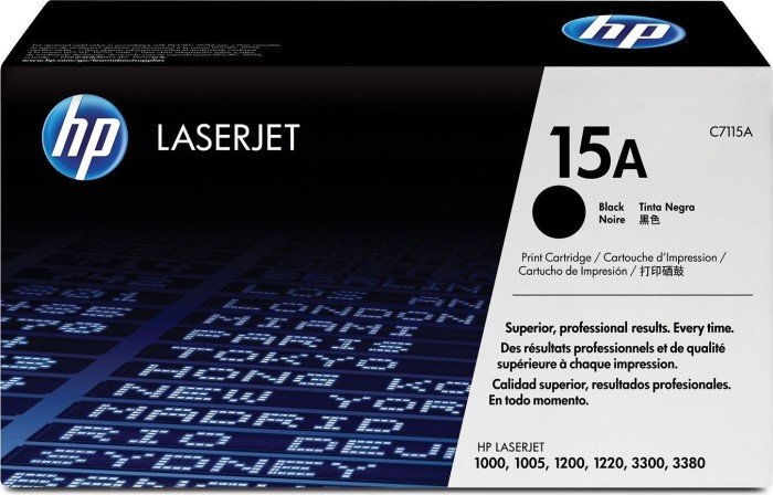 HP Toner 15A black (C7115A)