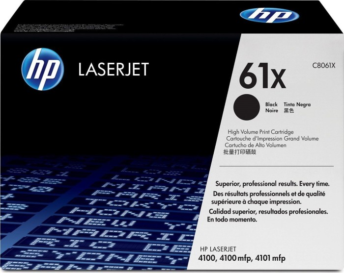 HP Toner 61X black (C8061X)