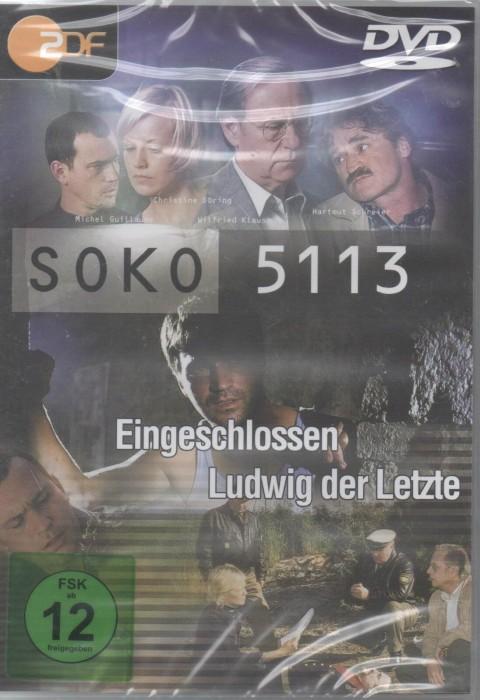 SOKO 5113 - Eingeschlossen/Ludwig der Letzte -- via Amazon Partnerprogramm