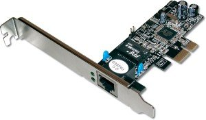 Digitus DN-1013, 1x 1000Base-T, PCIe x1