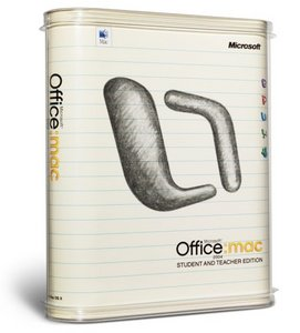 Microsoft Office 2004 Schulversion/SSL (deutsch) (MAC) (BD6-00006)