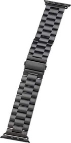 Peter Jäckel Watch Band Stainless für Apple Watch (42mm/44mm) schwarz (17257)