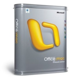 Microsoft Office 2004 Standard Update (englisch) (MAC) (731-00996)