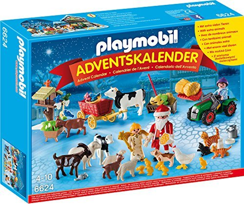 Playmobil Weihnachtskalender.Playmobil Christmas Advent Calendar Christmas On The Farm 6624