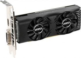 MSI GeForce GTX 1650 4GT LP OC, 4GB GDDR5, DVI, HDMI (V809-3250R)