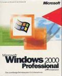 Microsoft: Windows 2000 Professional OEM/DSP/SB - Vollversionsbundle (deutsch) (PC)