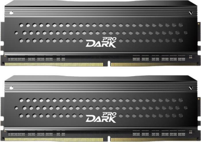 TeamGroup Dark Pro grau DIMM Kit 8GB, DDR4-3200, CL16-16-16