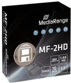MediaRange Disketten [Floppy] 1.44MB, 10er-Pack (MR200)